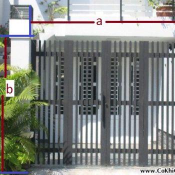 cách tính giá làm cửa sắt tại cơ khí gia hưng