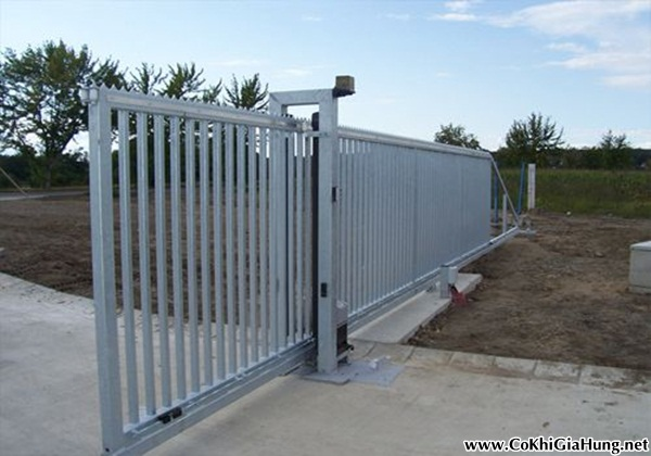 Cửa cổng sắt CK257