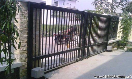 Làm mẫu cửa cổng sắt CK267 tại cơ khí Gia Hưng hết bao nhiêu tiền ?