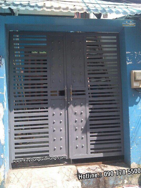 Cửa Cổng Sắt 2 cánh CK310
