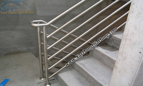 Xưởng cơ khí làm lay vịn cầu thang inox mẫu CK182 giá rẻ tại TpHCM