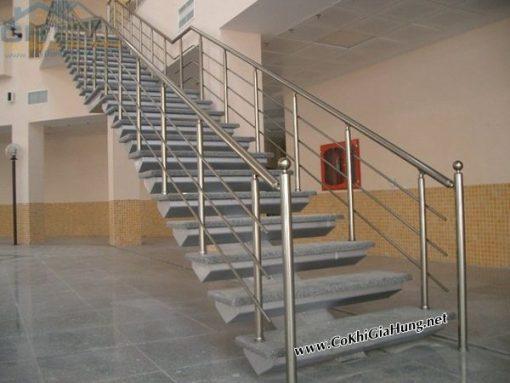 Tay vịn cầu thang inox CK216
