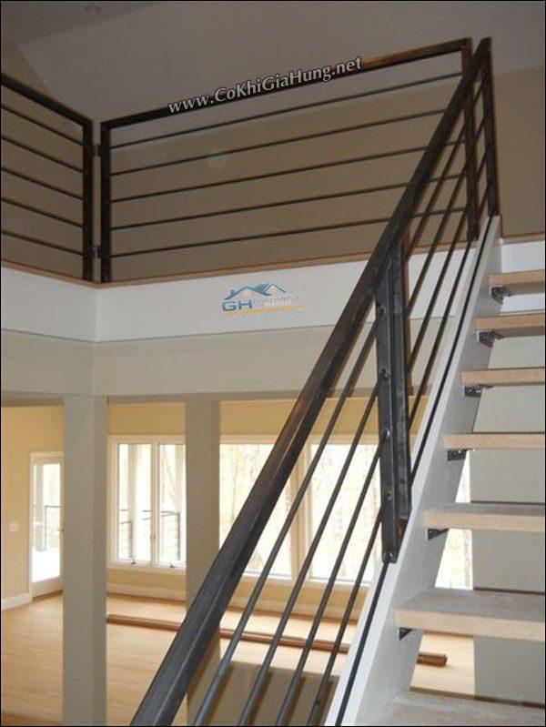 Giá mà mẫu tay vịn cầu thang song sắt CK302 tính như thế nào?