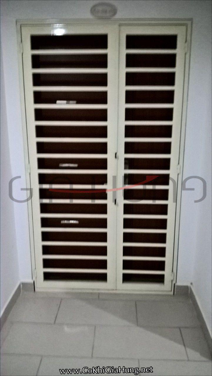 Cơ khí Gia Hưng chuyên nhận làm mẫu cửa sắt tại chung cư 4S Linh Đông CK622 giá tốt tại TpHCM