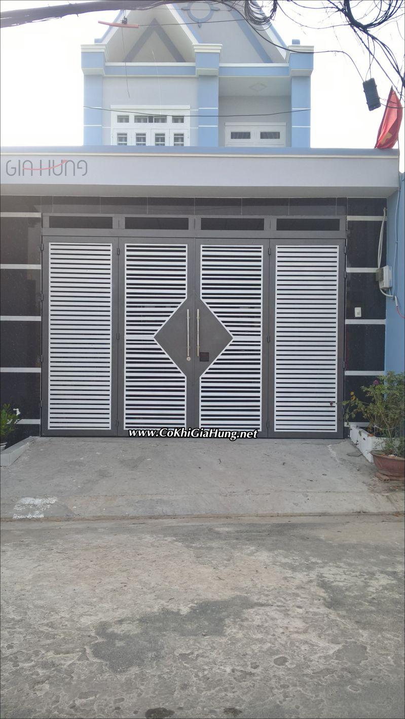 Dịch vụ làm Cửa cổng sắt CK713 tại TX14 - phường Thạnh Xuân, quận 12 giá tốt