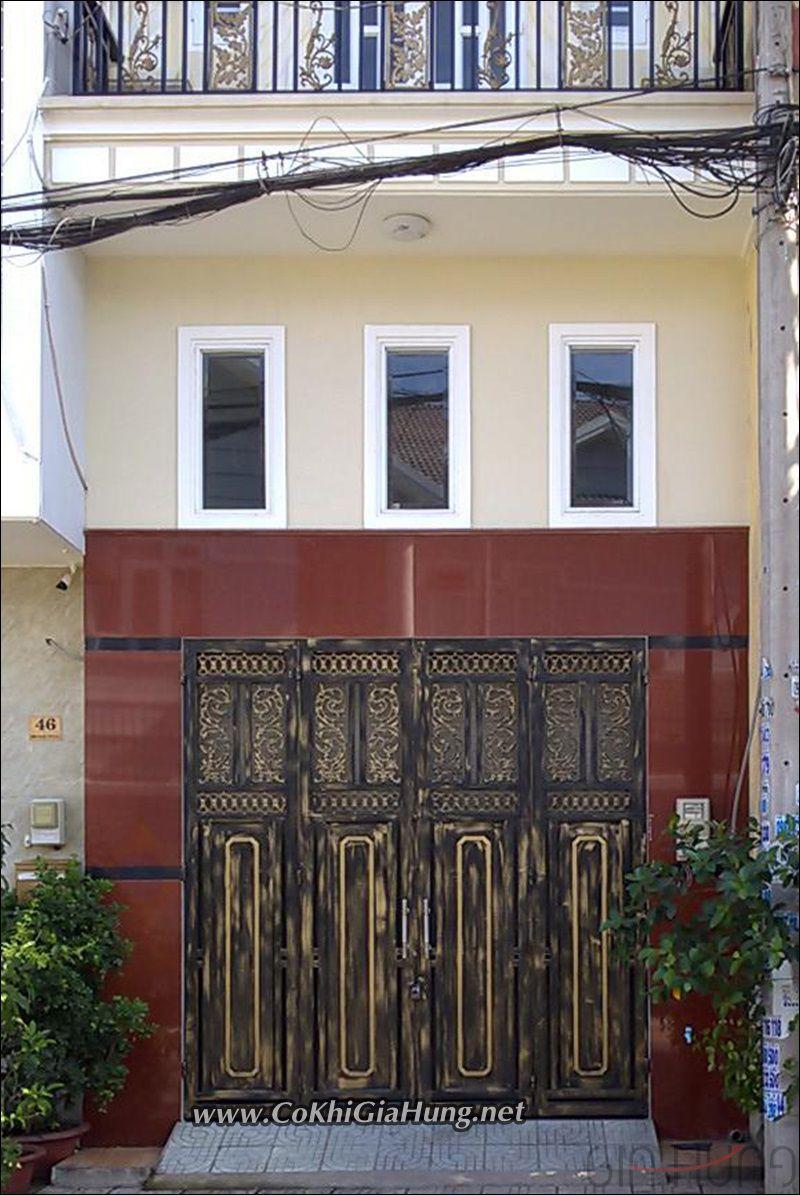 mẫu cửa sắt nhà phố tuyệt đẹp tại phường Thới An, quận 12, TpHCM