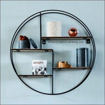 Xin giới thiệu Kệ trang trí khung sắt tròn CK917 đẹp tuyệt vời đã có tại Cơ Khí Gia Hưng