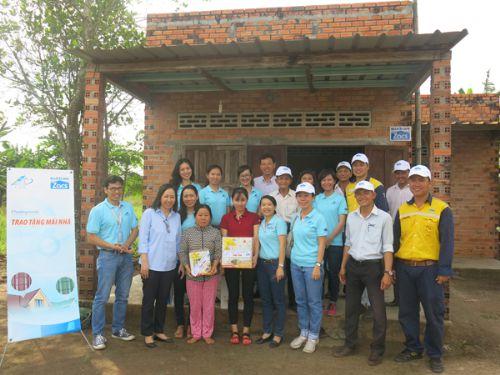 NS BlueScope Việt Nam thay mái nhà cho hộ nghèo Bà Rịa - Vũng Tàu