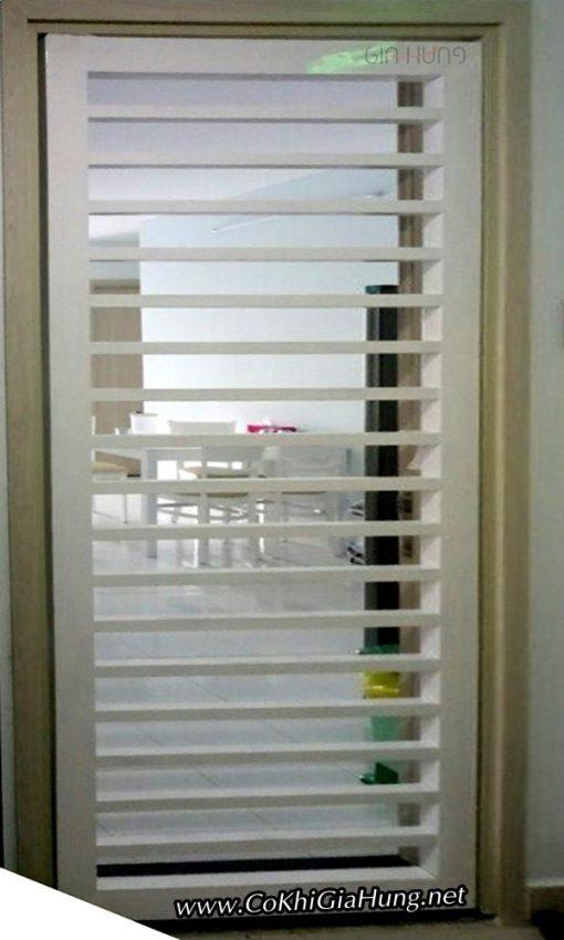 Mẫu cửa sắt chung cư CK1120 tại chung cư Fullhouse - Bình Trị Đông B- Bình Tân