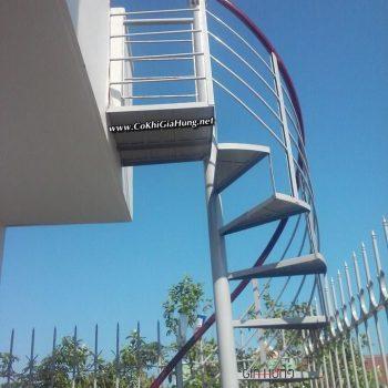 Công ty làm cầu thang sắt xoắn ốc CK1158 tại TpHCM